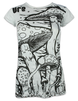 SURE Damen T-Shirt - Magische Pilze