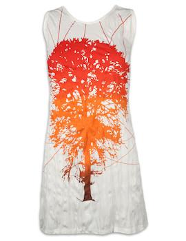 PURE Damen Trägerkleid - Lebensbaum