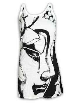 SURE Women´s Tank Dress - Crying Buddha