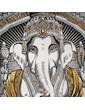 WEED Damen Träger-Kleid - Ganesha Der Elefantengott