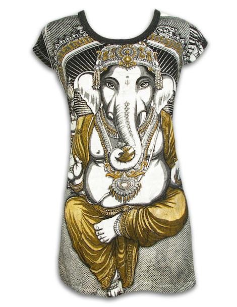 WEED Damen Kleid - Ganesha Der Elefantengott