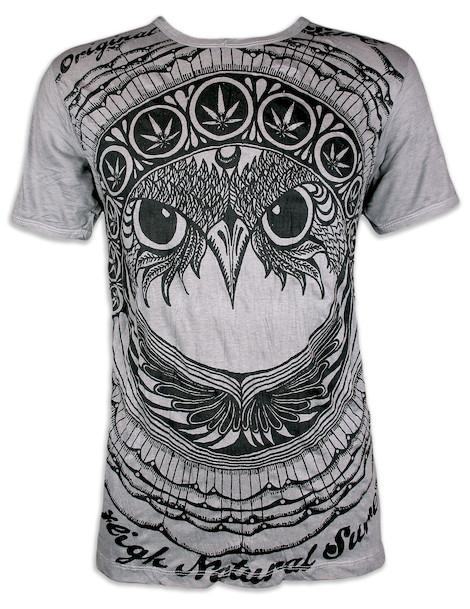 SURE Herren T-Shirt - Die Ganja Eule