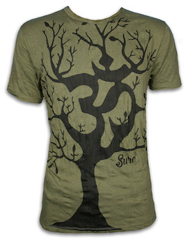 SURE Men´s T-Shirt - Om Magic Tree