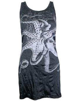 SURE Damen Trägerkleid - Die Riesen Krake