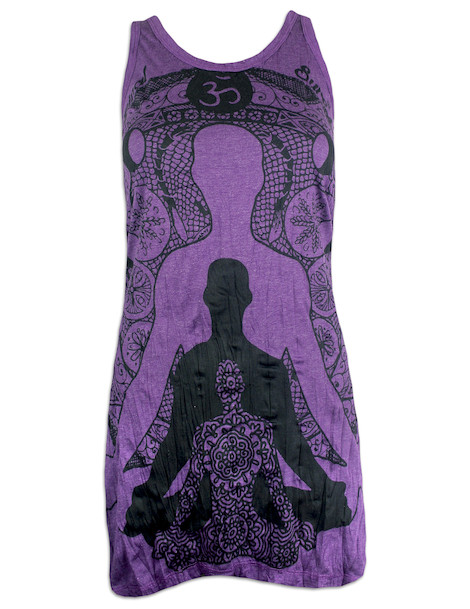 SURE Women's Tank Dress - Yogi