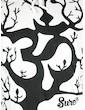 SURE Men´s Hooded Sweater - Om Magic Tree  Size M L XL Shamane Goa Psy Trance Yoga of Life Worldtree