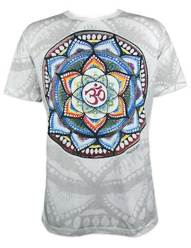 Mirror Herren T-Shirt - Om Mandala
