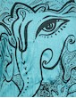SURE Women's Tank Top - Elephant God Ganesha Buddha Hindu