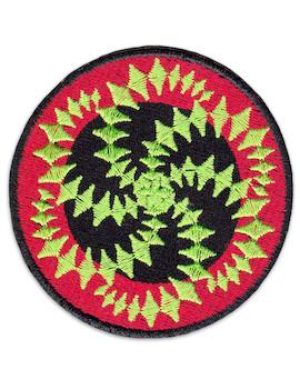 Patch Spiral Mandala
