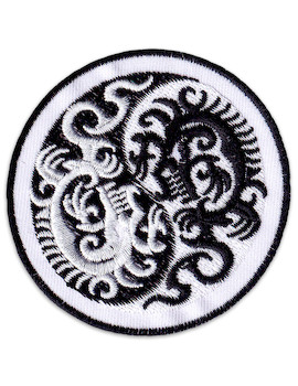 Patch Yin & Yang Dragons
