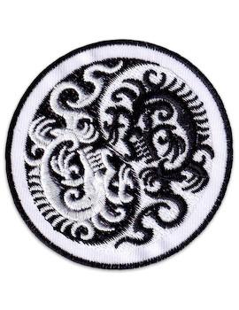 Patch Yin & Yang Dragons
