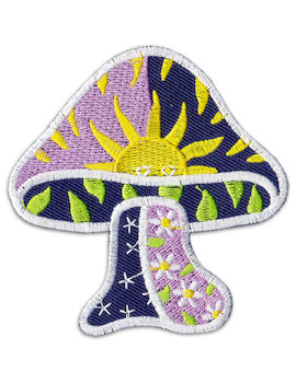 Patch Sun Magic Mushroom