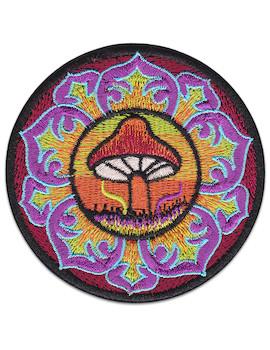 Aufnäher Shroom Mandala