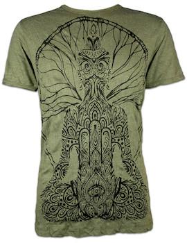 SURE Herren T-Shirt Hamsa Guru