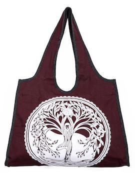 Wakapu Handtasche Weltenbaum