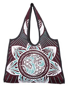 Wakapu Shoulder Bag Om Mandala