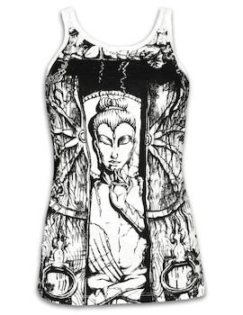 SURE Women´s Tank Top - Buddha The Wheel of Life