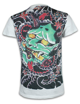 Ako Roshi Herren T-Shirt - Akuma Dämon