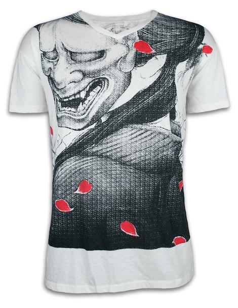 Ako Roshi Men´s T-Shirt - Shiroi Akuma White Devil