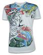 Ako Roshi Herren T-Shirt - Tora to Ryu Tiger & Drache