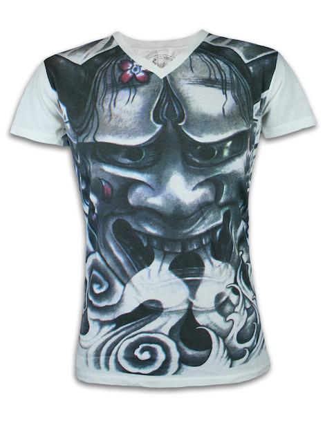 Ako Roshi Men´s T-Shirt - Toraneko Raijin Flame Demon