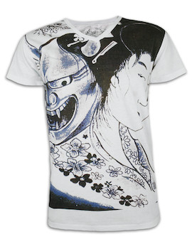 Ako Roshi Men´s T-Shirt - Akuma To Geisha - Dämon und Geisha