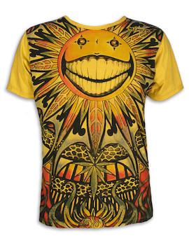 Mirror Herren T-Shirt - Die Psychedelische Sonne