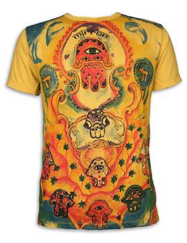 MIRROR Herren T-Shirt - Das Auge Der Vorsehung