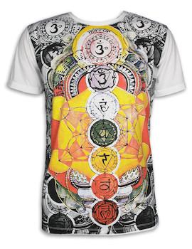 MIRROR Herren T-Shirt - Die 7 Chakras