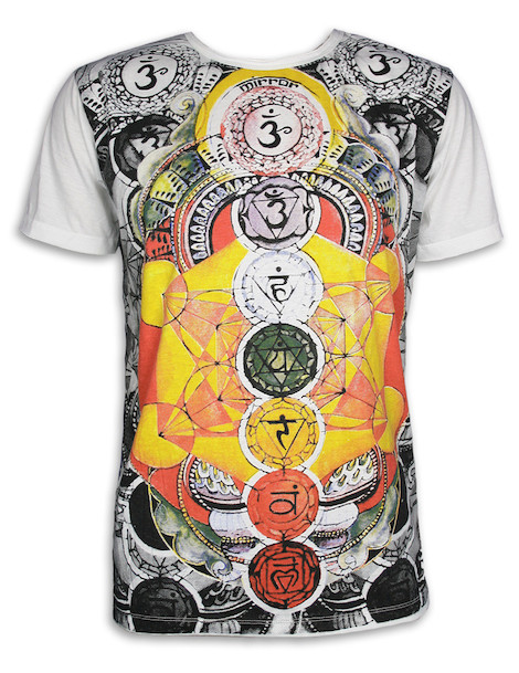 MIRROR Men´s T-Shirt - The 7 Chakras
