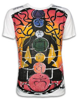 MIRROR Herren T-Shirt - Guru Chakras