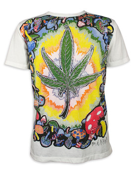MIRROR Herren T-Shirt - Psychedelische Nächte