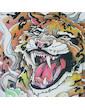 Ako Roshi Men´s T-Shirt - Tora To Akuma Tiger And Demon