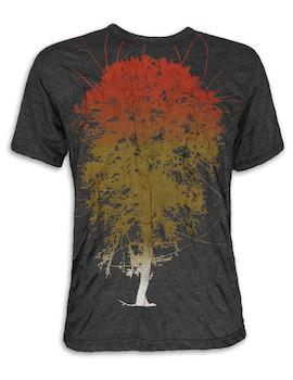 PURE Herren T-Shirt - Lebensbaum