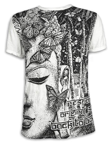 SURE Men´s T-Shirt - Butterfly Wisdom