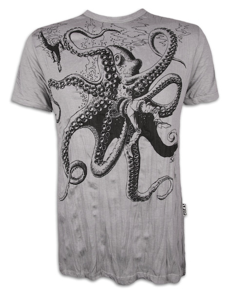 SURE Men´s T-Shirt - The Giant Kraken