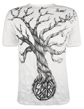 SURE Herren T-Shirt - Baum des Friedens