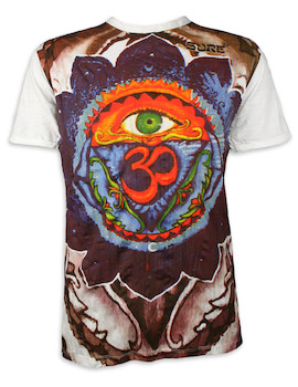 SURE Men's T-Shirt - In The Eye of Aum
