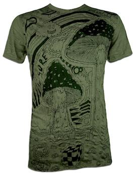 SURE Herren T-Shirt - Mushroom Dreamland