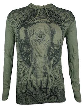 SURE Men´s Hooded Sweater - Om Ganesha