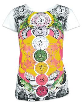 MIRROR Damen T-Shirt - Die 7 Chakras