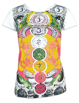 MIRROR Women's T-Shirt - The 7 Chakras