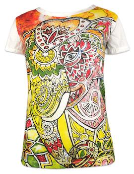 MIRROR Women's T-Shirt - Psychedelic Elephant
