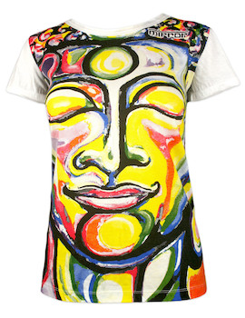 MIRROR Women's T-Shirt - Smiling Buddha